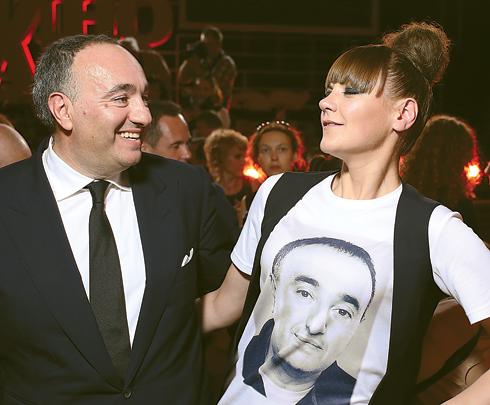 Александр Роднянский и Анна Уколова на «Кинотавре-2016»