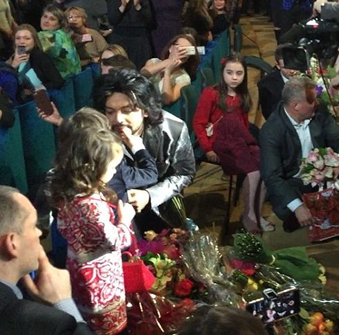 Киркоров посвятил свое шоу дочке Алле-Виктории и сыну Мартину