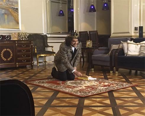 Филипп Киркоров знает, как чистить ковер капустой...