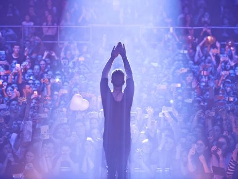 На концерт Егора пришло около 7 тысяч человек