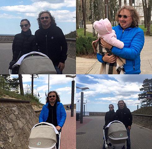 Дочь Игоря Николаева и Юлии Проскуряковой родилась семя месяцев назад