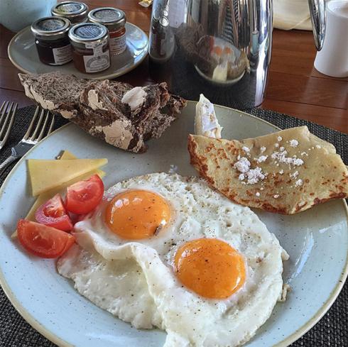 Завтрак Леры Кудрявцевой