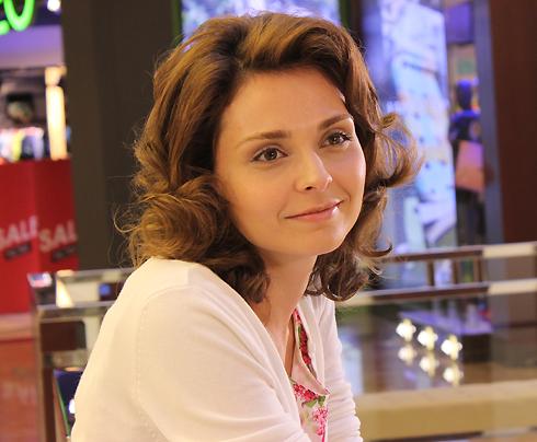 Вера Житницкая на съемках сериала «Лестница в небеса»