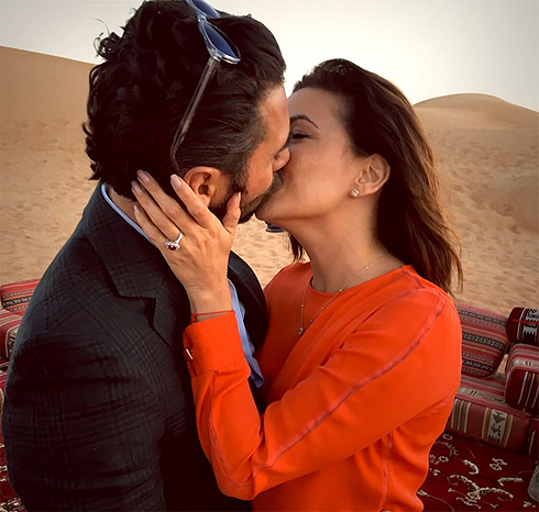 Ева Лонгория помолвлена с Хосе Антонио Бастоном
