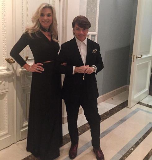 Валентин Юдашкин с женой Мариной после перенесенной операции