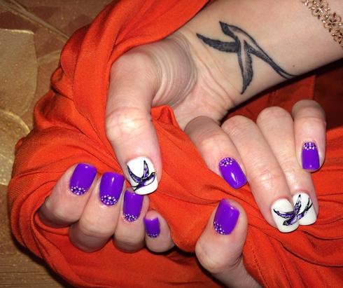 Фиолетовый - очень важный цвет фэн-шуй - цвет тайны
