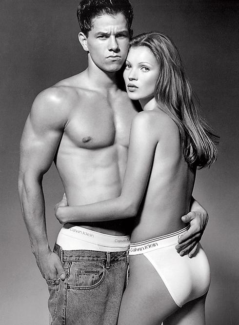 Кейт Мосс в откровенной фотосессии с Марком Уолбергом
