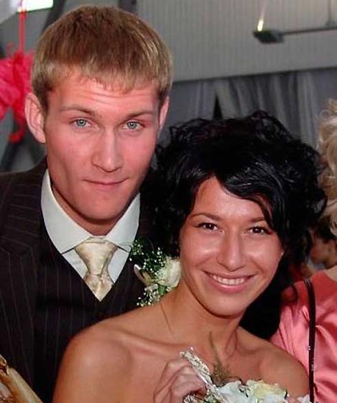 Николай Наумов с женой Альбиной