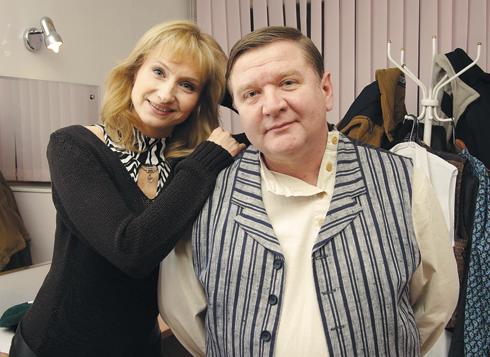 Ольга Прокофьева и Роман Мадянов