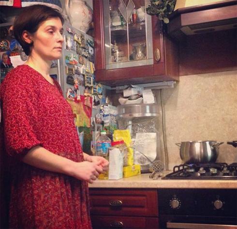 Жена Ивана Охлобыстина Оксана Арбузова