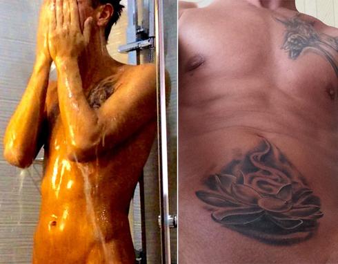 У Алексея Панина появилась новая татуировка