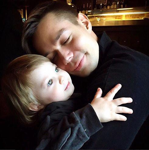 Стас Пьеха и его сын Петр
