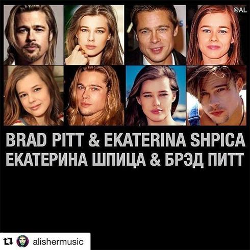 Катерина Шпица обрадовалась новости о разводе Анджелины и Брэда