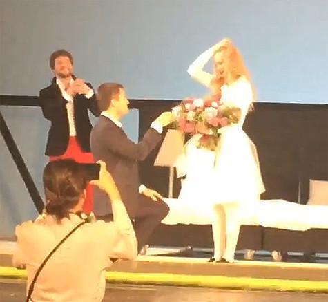 В мае 2015 года Георгий Петришин сделал Светлане Ходченковой предложение руки и сердца
