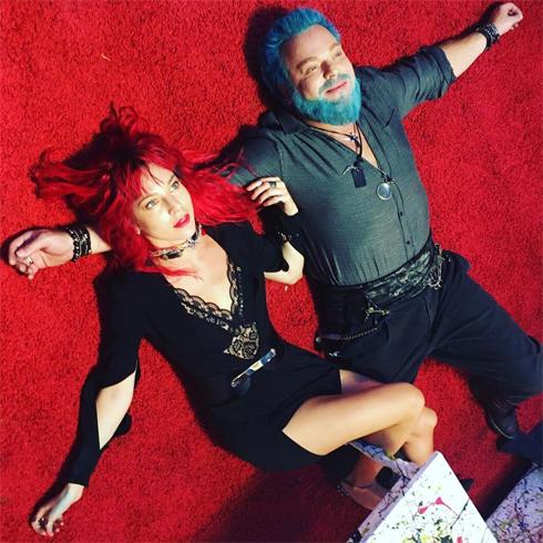 Наталья Подольская и Владимир Преснякова недавно сменили имидж для съемок нового клипа