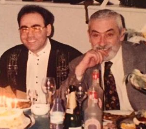 Иосиф Пригожин и Вахтанг Кикабидзе 21 год назад