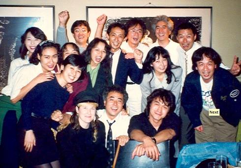 Джоанна с Виктором Цоем на гастролях в Японии