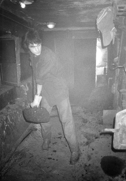 Виктор Цой в угольной котельной, более известной как Камчатка