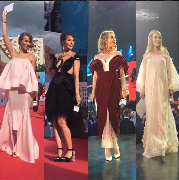 Для музыкальной премии телеведущая выбрала платья, скрывающие ее животик