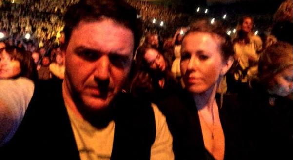 Супруги не могли пропустить концерт Земфиры