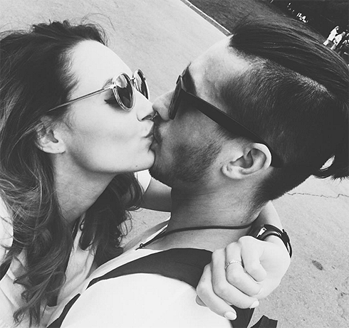 Полина Фаворская не скрывает своего возлюбленного