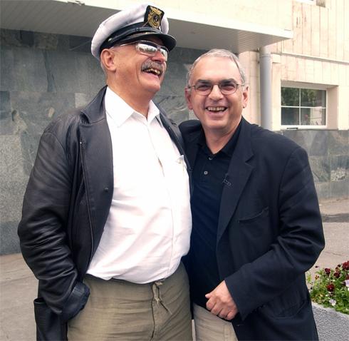 Карен Шахназаров с Никитой Михалковым