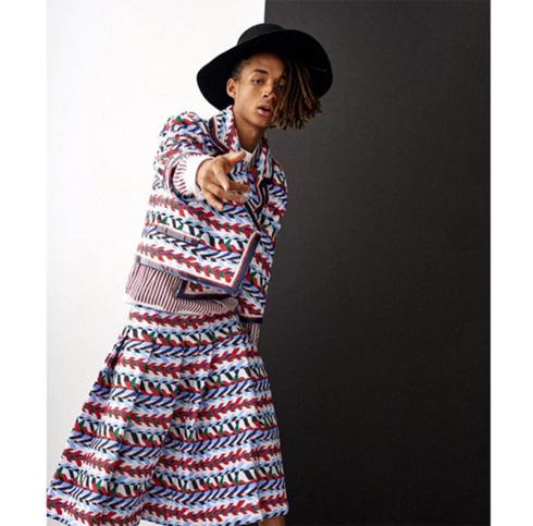Джейдену Смиту нравится носить юбки