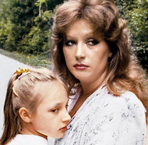 Кристина Орбакайте с мамой, когда та была замужем за Стефановичем
