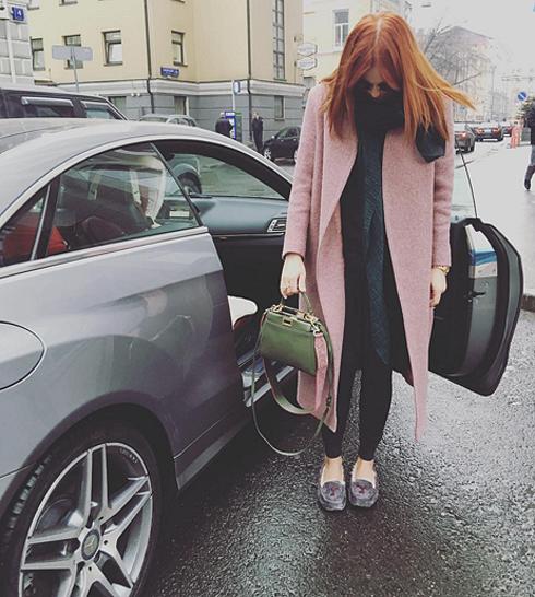 Анастасия Стоцкая попала в ДТП