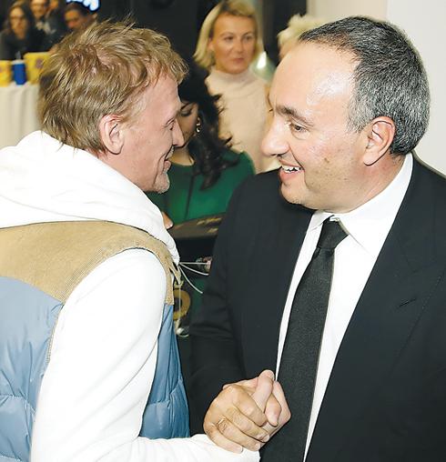 Алексей Серебряков и Александр Роднянский