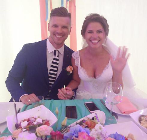 Юля и Игорь встречались до свадьбы около двух лет
