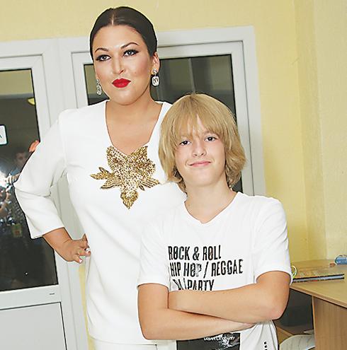 Ирина Дубцова с сыном