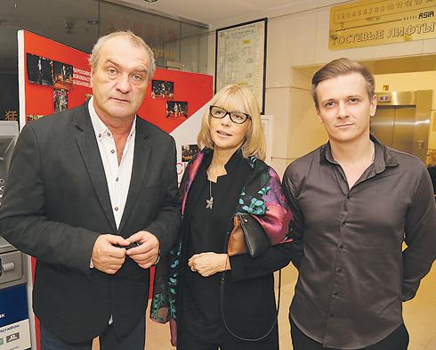 Александр Балуев, Вера Глаголева и Глеб Матвейчук