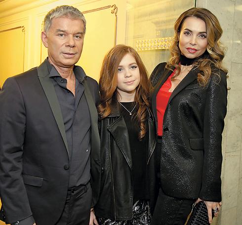 Олег Газманов с семьей