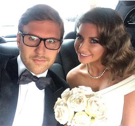Галина и Петр расписались в сентябре 2014 года
