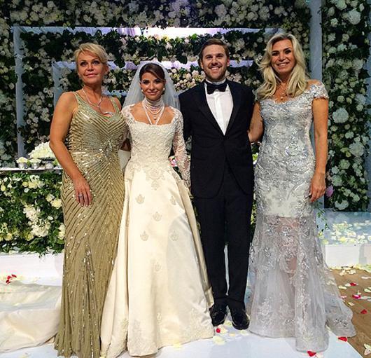 А грандиозная свадебная вечеринка Юдашкиной и Максакова состоялась в июне 2015-го