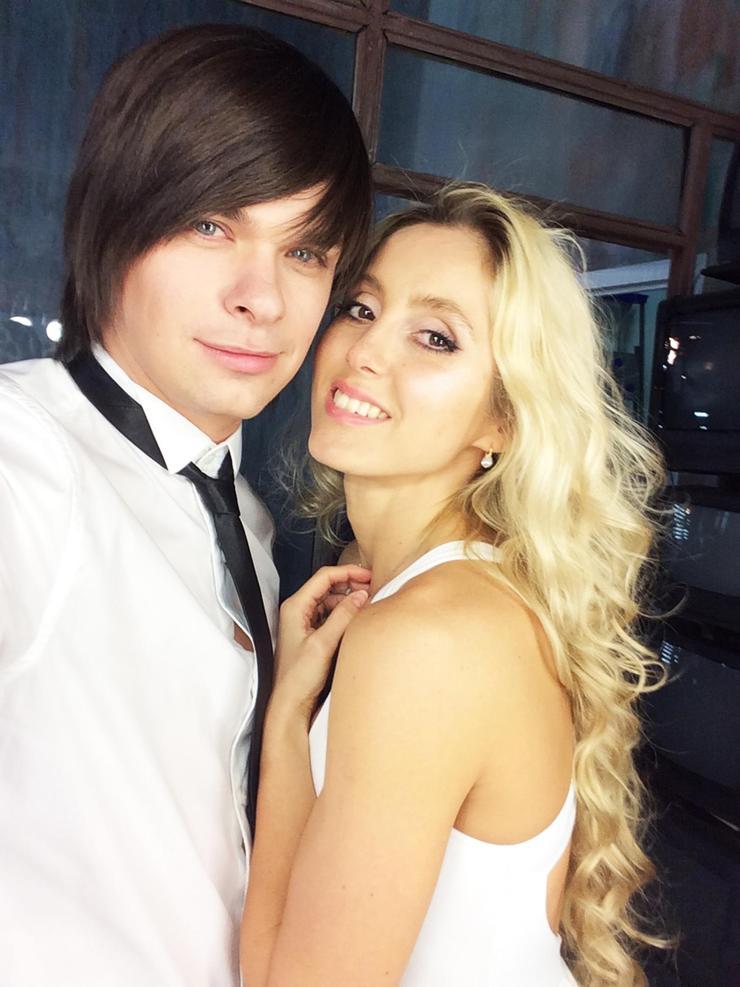 С певицей и актрисой Марией Неделковой