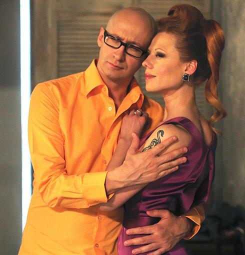 Певица Юта со своим возлюбленным Александром Стефанцовым