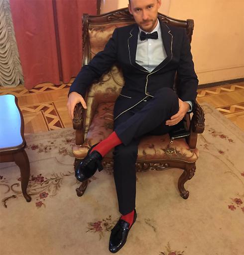 Жених певицы Роман Садырбаев