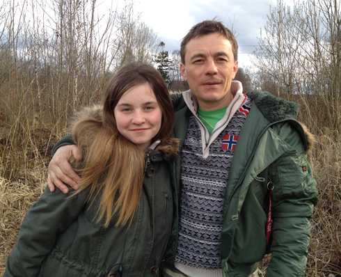 Дочери Софье пятнадцать лет. После развода родителей она осталась жить с отцом