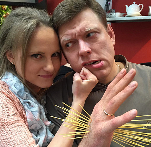 Анна Бегунова и Сергей Лавыгин в феврале стали родителями