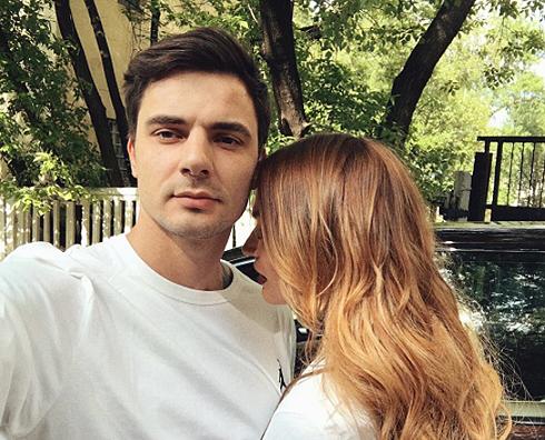 Водонаева с женихом Антоном Коротковым