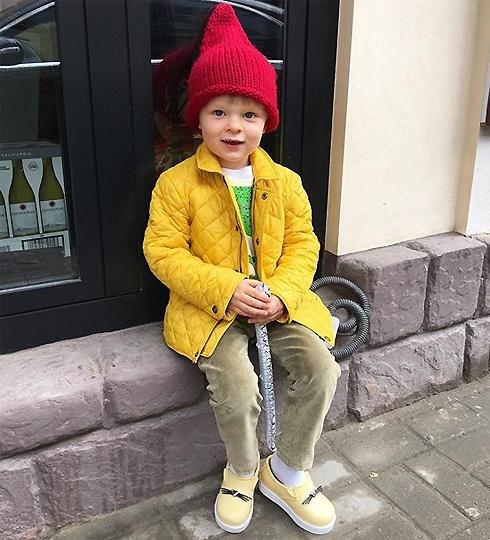 Маленький Саша Плющенко - единственный родной ребенок Рудковской