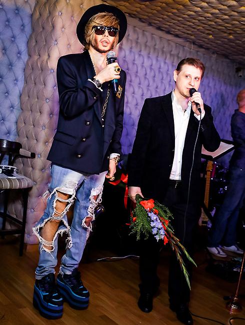 Сергей Зверев спел с Владимиром Луневым дуэтом