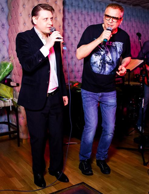 Андрей Ковалев тоже поздравил Владимира Лунева с 10-летием творческой деятельности