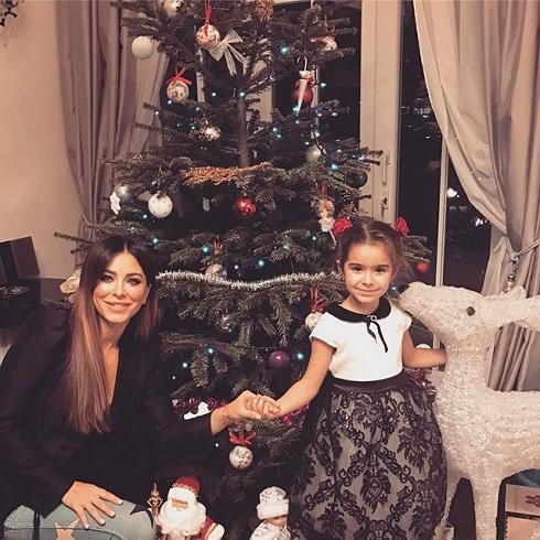 Ани Лорак с дочкой Соней, крестницей Филиппа Киркорова