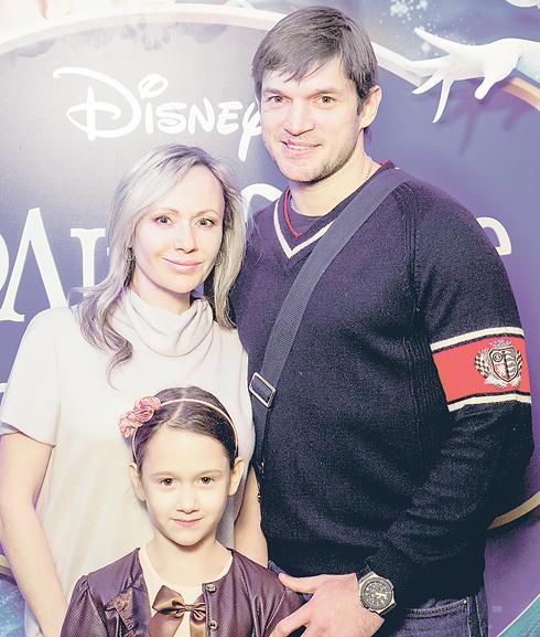 Мария Бутырская с мужем Вадимом Хомицким и дочерью