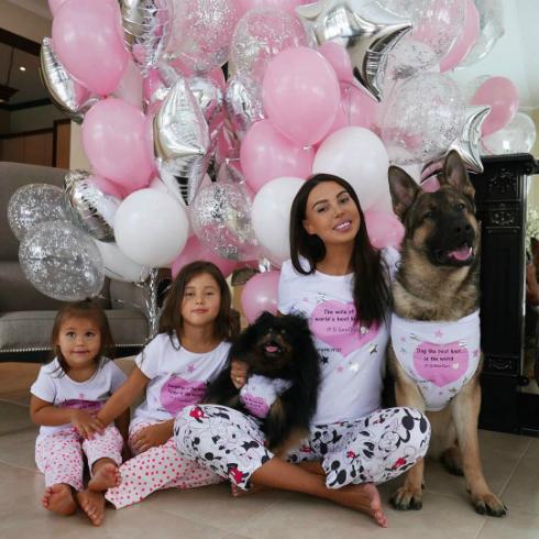 В семье Джигана и Оксаны уже растут две дочери