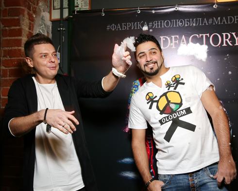 Александр Бердников и Дмитрий Пакучичев