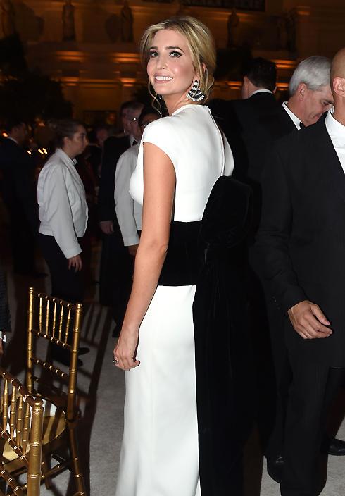 Иванка Трамп на ужине в преддверии инаугурации президента